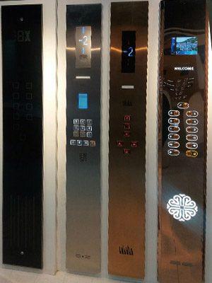 صفحه کلید آسانسور