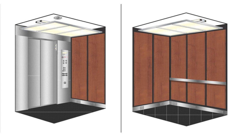 بازسازی کابین آسانسور